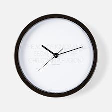 Age Ignorance Wall Clock