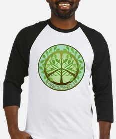 2-PeacefulTree2TR Baseball Jersey