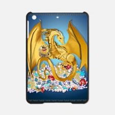 2-BigGoldDragonwithGlobe PosterP iPad Mini Case