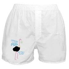 ostriches are pimp Boxer Shorts