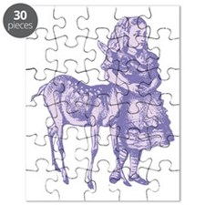 Alice with Fawn Lavender Puzzle