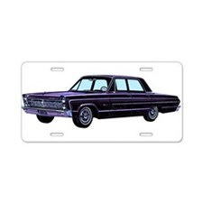 1965 Plymouth Fury I Aluminum License Plate