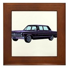 1965 Plymouth Fury I Framed Tile