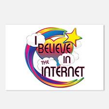 I Believe In The Internet Cute Believer Design Pos