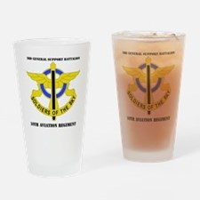 DUI - 3-10th Aviation Regiment with Drinking Glass