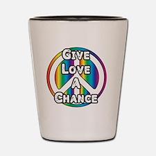 LovePeace Shot Glass