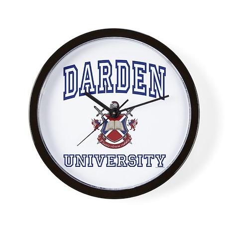 DARDEN University Wall Clock