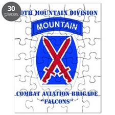 DUI - 10th Mountain Division - CAB with Tex Puzzle