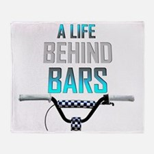 Life Behind Bars Throw Blanket