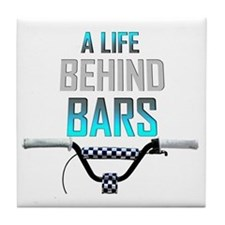 Life Behind Bars Tile Coaster