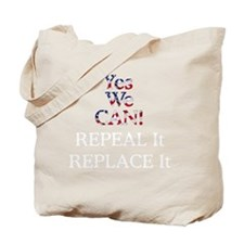 Repeal Replace ObamaCare Tee Tote Bag