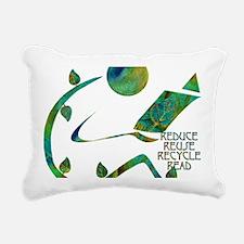 GreenReader4R Rectangular Canvas Pillow