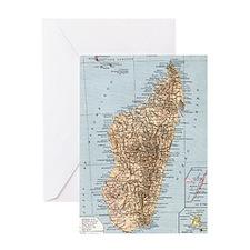 Madagascar - color Greeting Card