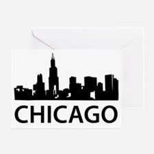 chicago1 Greeting Card