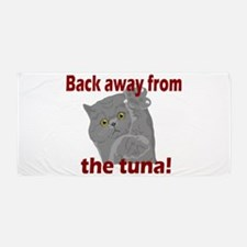 Back Away From the Tuna Beach Towel