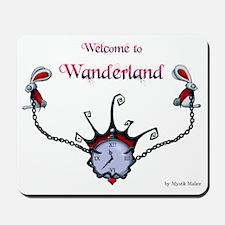 welcomewander_recto Mousepad