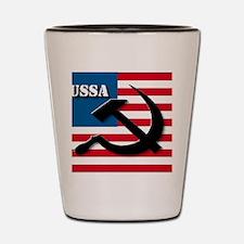 ussa3 Shot Glass