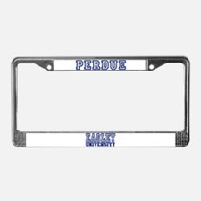 PERDUE University License Plate Frame