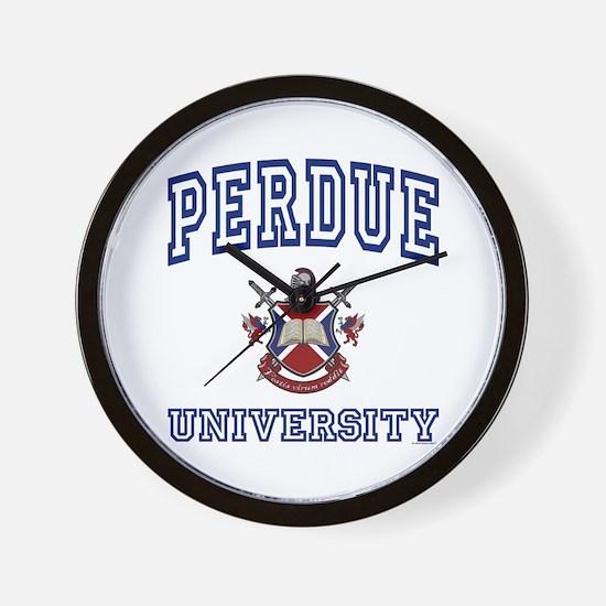 PERDUE University Wall Clock
