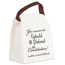 ReadIt! Canvas Lunch Bag