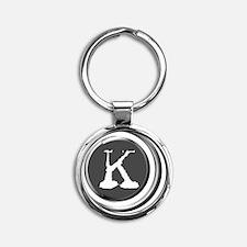 circlek Round Keychain