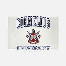 CORNELIUS University Rectangle Magnet