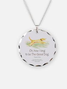 Good Dog-circle Necklace