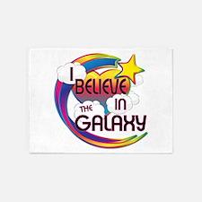 I Believe In The Galaxy Cute Believer Design 5'x7'