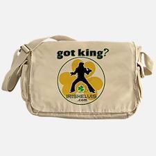 2-gotking-SHIRT Messenger Bag