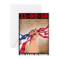 Take It Back poster_16x20 Greeting Card