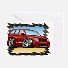 Red_JeepSRT8 Greeting Card