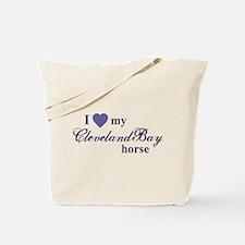 Cleveland Bay horse Tote Bag