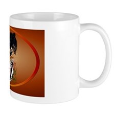 Big Cats oval_sticker Mug