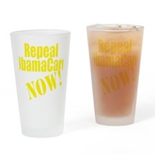 Repeal ObamaCare Now! Drinking Glass