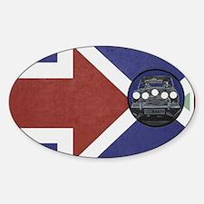 ORIGINAL MINI, THE ITALIAN JOB, INT Sticker (Oval)