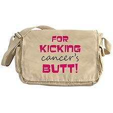 Wanted_back_pink Messenger Bag