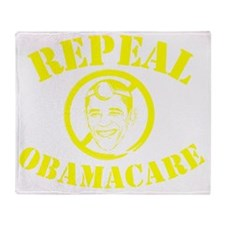 Repeal ObamaCare! Dr. Obama Throw Blanket