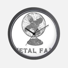 metal_fan copy Wall Clock
