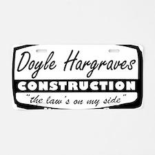 doyle-hargraves2.gif Aluminum License Plate