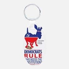Democrats Rule Keychains