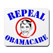 Repeal ObamaCare! Dr. Obama Mousepad