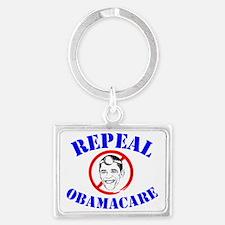 Repeal ObamaCare! Dr. Obama Landscape Keychain