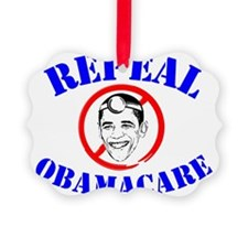Repeal ObamaCare! Dr. Obama Ornament