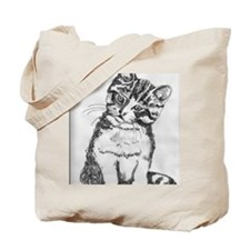 Cuddly Kitten by Kimberly Rex Tote Bag