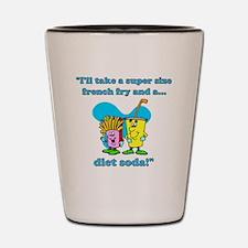 dietsoda Shot Glass