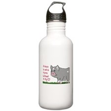 A House Is not a Home without a Pig Water Bottle