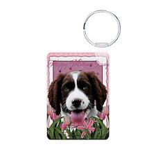 PinkTulips_English_Springe Keychains