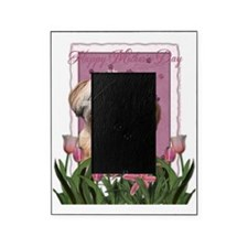 PinkTulips_ShihPoo Picture Frame