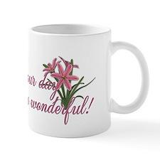 PinkTulipsInside2 Small Mug