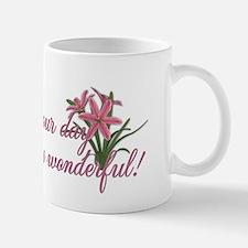 PinkTulipsInside2 Small Small Mug